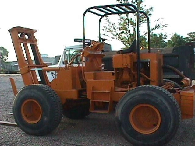 Nasco Loadster Forklift 001 Sandman Industrial Amp Custom